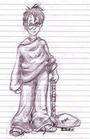 Harry Potter-Sorcerer's Stone by Eliza-the-artist