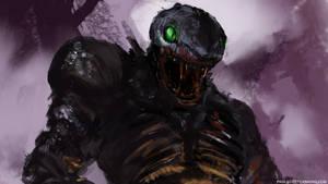 Spitpaint - Snake Demon 2 by abigbat