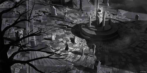 Omen - Environment Concept Art 01 by abigbat