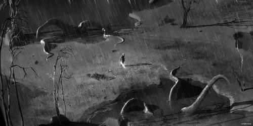 Omen - Environment Concept Art 03 by abigbat