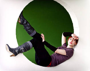 Green Circle by blu-eis