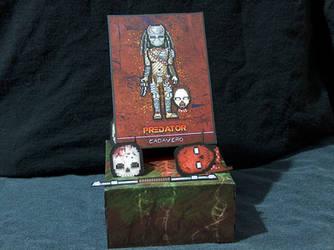 Predator Character Card Bundle - Card, Stand, etc. by MrCadavero