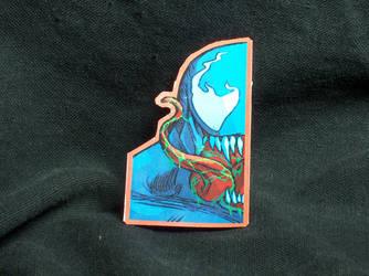 Venom Glossy Sticker by MrCadavero