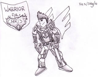 Warrior for Christ by SonicTheHedgeTrimmir