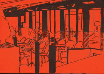 cafe parisien by EmmanuelleLescouet