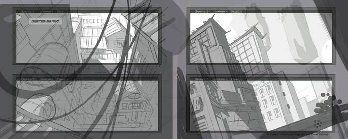 B7 webcomic panels 5-8 by cheeks-74