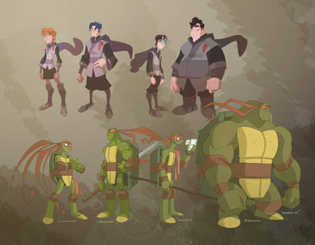 TMNT by cheeks-74