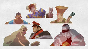 Street Fighter  Ugg Muggs by cheeks-74
