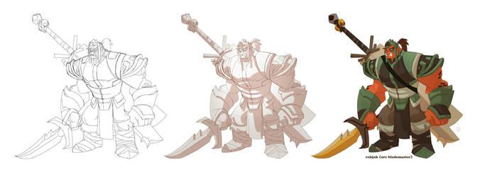 World of Warcrafts Rahjak by cheeks-74