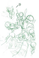 Junior Justice League W.I.P. 1 by cheeks-74