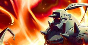 Full Metal Alchemist: Alfonse collab by cheeks-74