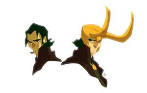 Okie Dokie Loki by cheeks-74