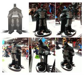 Batman B/W sculpt by cheeks-74