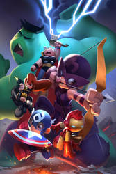 Avengers GO! by cheeks-74