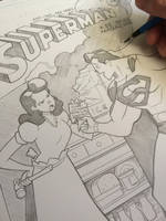 Superman cover 36 recreation commission by cheeks-74