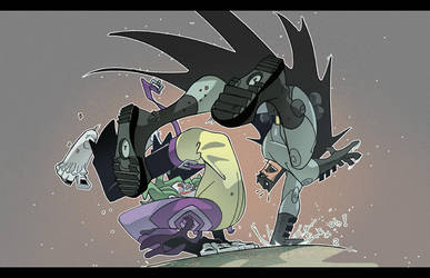 Fight Fight 2 colored version by cheeks-74