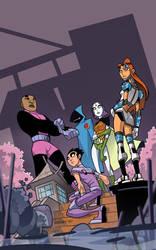 Teen Titans Go no. 24 by cheeks-74
