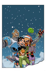 Teen Titans Go Cover no. 25 by cheeks-74