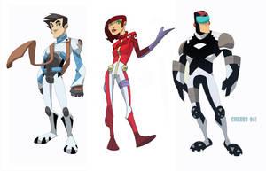 Speed Jr Cartoon n toy designs by cheeks-74
