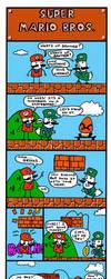 Super Mario Bros. by bobbymono