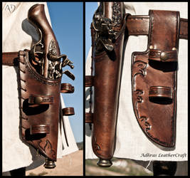 Custom Gun Holsters by Adhras