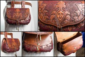 Renaissance Luxury Belt Puch by Adhras