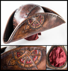 Tricorn With Compass Rose by Adhras
