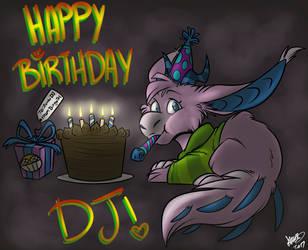 .: !!HAPPY BIRTHDAY DJ!! :. by DingoTK