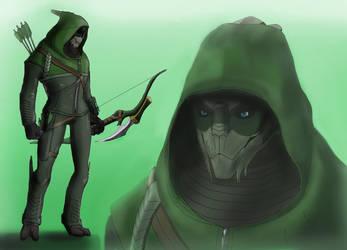 Garrus-Arrow by spaceMAXmarine