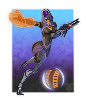 Tali'Zorah by spaceMAXmarine