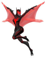 Tali - Batman beyound by spaceMAXmarine