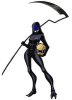 Tali - Celty by spaceMAXmarine