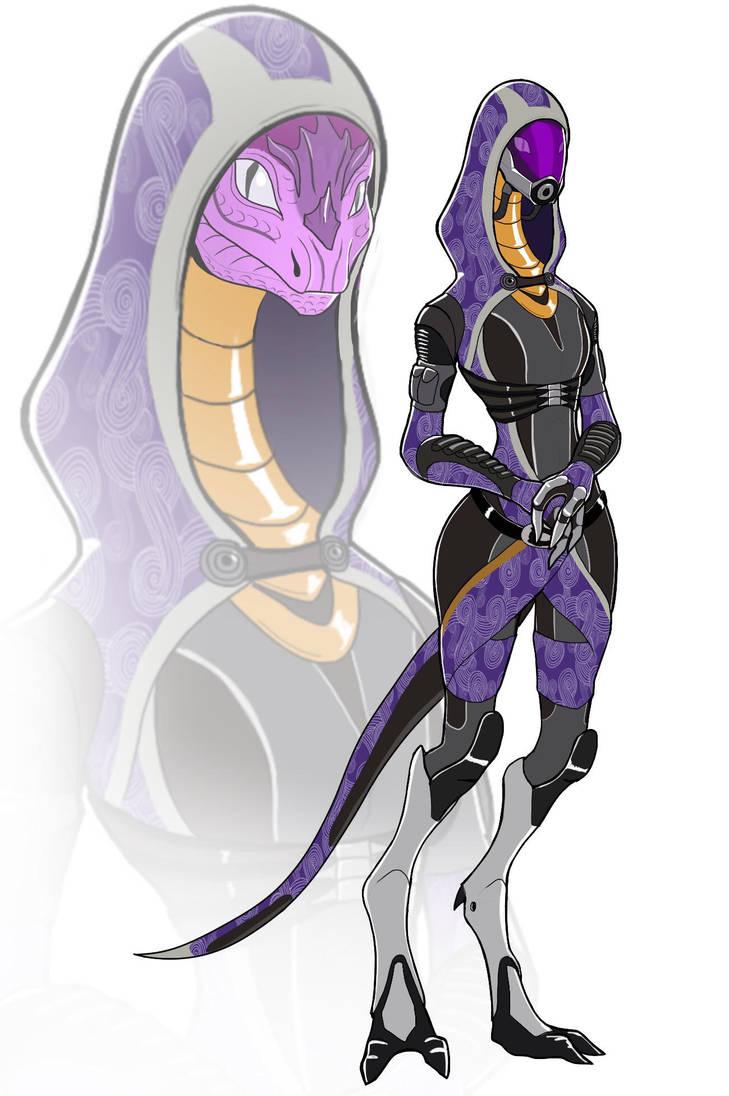 Lizard Tali by spaceMAXmarine