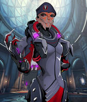 Moira turian by spaceMAXmarine