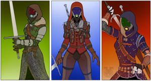 All things witcher Tali's by spaceMAXmarine