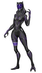 Tali - Black Panter by spaceMAXmarine