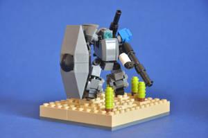 Azure Trident Tankbuster by MittenNinja