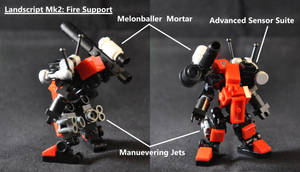 Landscript Mk2: Fire Support by MittenNinja