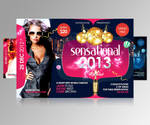 Sensational New Year Party Flyer by satgur