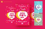 Valentine Sales Promotion Flyer by satgur