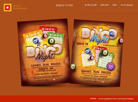 Bingo Night Flyer by satgur