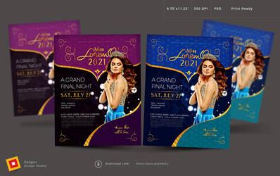 Beauty Contest Flyer by satgur