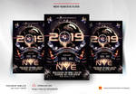 New Year Eve Flyer Template by satgur