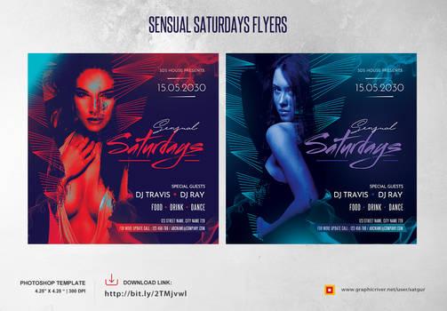 Sensual Saturday Flyer by satgur
