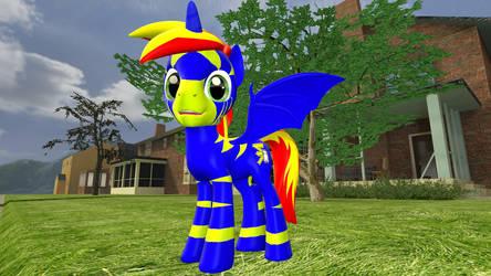 Lightning Specter  Gmod pony model by schorpioen007