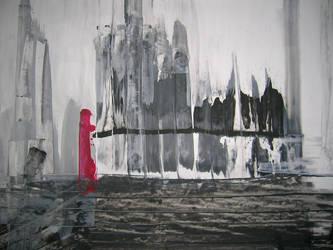 achromatic grays + red by targat