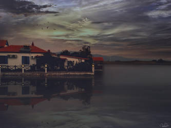 The house in the lake by kouki1