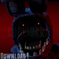 Merry Christmas WITHERED BONNIE DOWNLOAD by CoolioArt