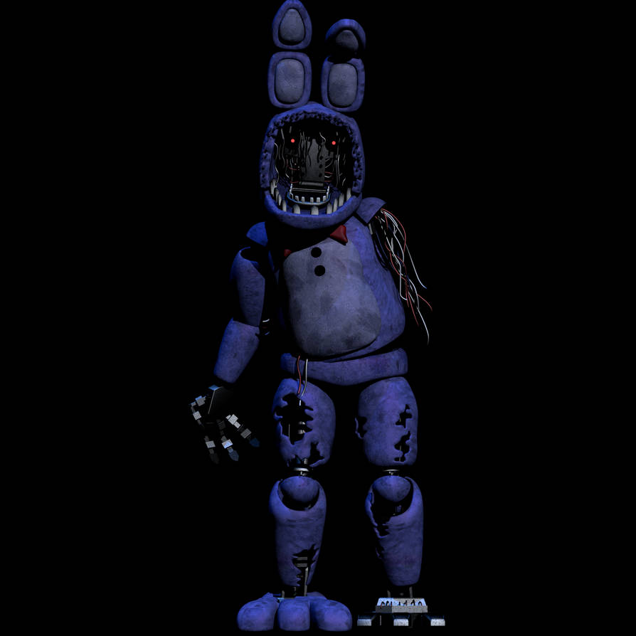 Withered Bonnie V2 Full Body [Updated] By CoolioArt On
