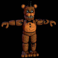 Withered Freddy v6 w.i.p by CoolioArt